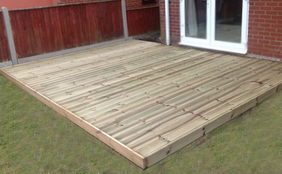 Diy house deck kits plans free for Hardwood decking supply